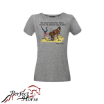 PERFECT HORSE T-shirt damski Cartoon Blaski