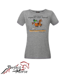 PERFECT HORSE T-shirt damski Cartoon Elegancja