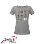 PERFECT HORSE T-shirt damski Cartoon Faza