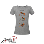 PERFECT HORSE T-shirt damski Cartoon Hop