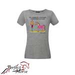 PERFECT HORSE T-shirt damski Cartoon Kucyk
