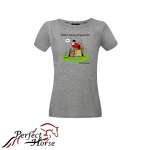 PERFECT HORSE T-shirt damski Cartoon Rozmowa