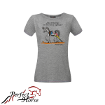 PERFECT HORSE T-shirt damski Cartoon Streczing