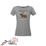 PERFECT HORSE T-shirt damski Cartoon Ujeżdżenie