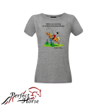 PERFECT HORSE T-shirt damski Cartoon Metody