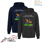PERFECT HORSE Bluza damska Cartoon Metody