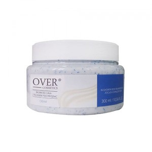 OVER COSMETICS Balsam pod prysznic z peelingiem Cream 300 ml