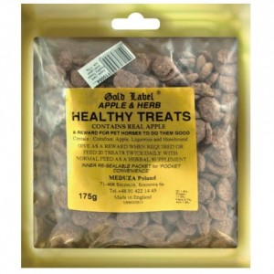 GOLD LABEL Mint and Herb Healthy Treats Cukierki 175g