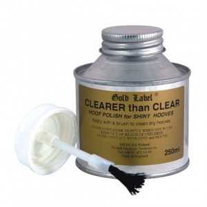 GOLD LABEL Clearer Than Clear lakier do kopyt 250 ml