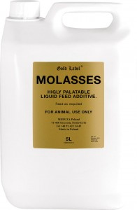 GOLD LABEL Molasses melasa 5l