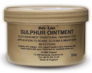GOLD LABEL Maść siarczanowa Sulphur Ointment 250 ml