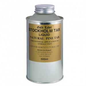GOLD LABEL Stockholm Tar Liquid dziegieć 500ml 24h