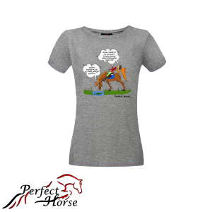 PERFECT HORSE T-shirt damski Cartoon Kałuża