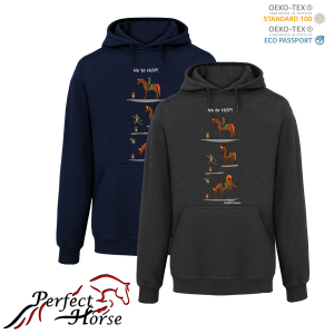 PERFECT HORSE Bluza damska Cartoon Hop