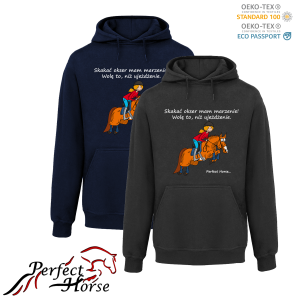 PERFECT HORSE Bluza damska Cartoon Okser