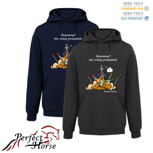 PERFECT HORSE Bluza damska Cartoon Skaczemy