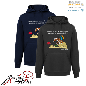 PERFECT HORSE Bluza damska Cartoon Western