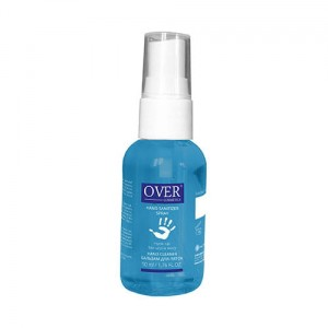 OVER COSMETICS Hand Sanitizer Gel 50ml 24h