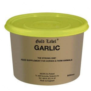 GOLD LABEL Garlic Supplement czosnek 500g