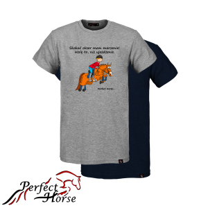 PERFECT HORSE T-shirt męski Cartoon Okser