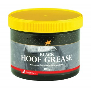 LINCOLN Czarna maść do kopyt Black Hoof  Grease 400 g