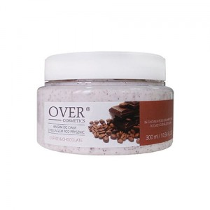 OVER COSMETICS Balsam pod prysznic z peelingiem Coffee&Chocolate 300 ml
